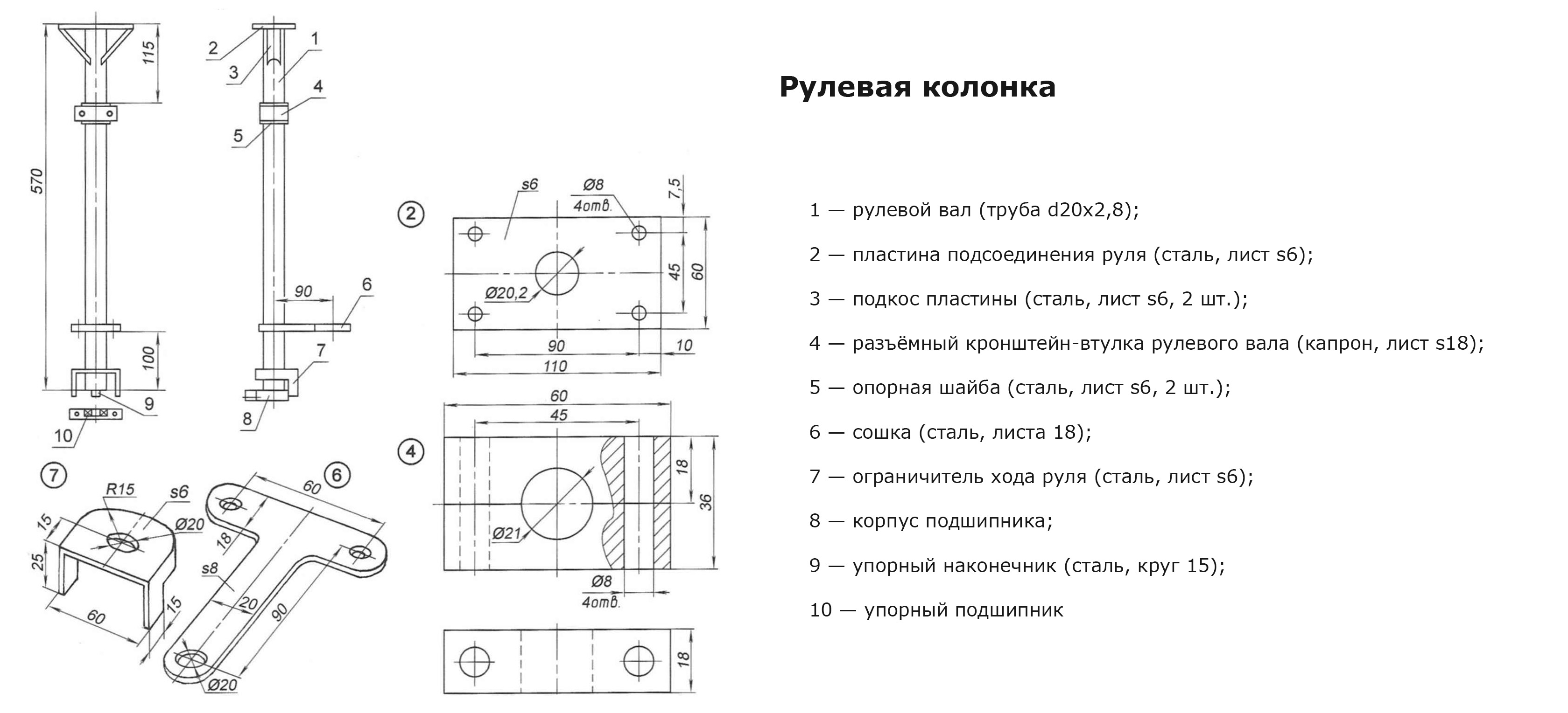 Квадроцикла своими руками чертежи 13