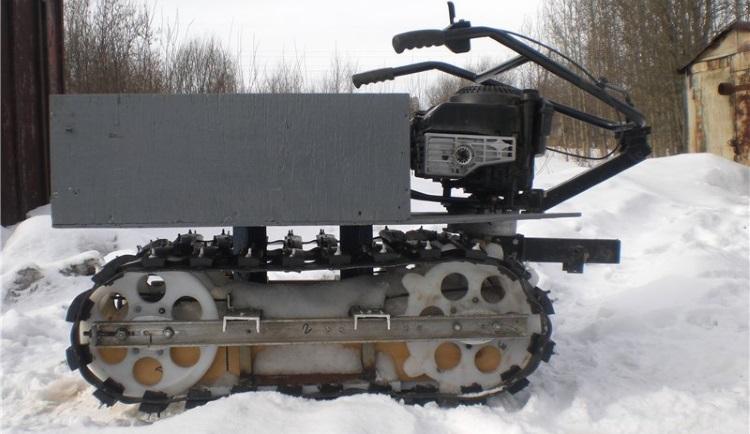 Как своими руками сделать снегоход из мотоблока 939