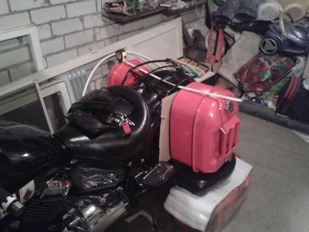 5047c96b7805 Крепления на различные мотоциклы разные, поэтому мы не будем заострять на  них внимание, а посмотрим весь пошаговый процесс изготовления: